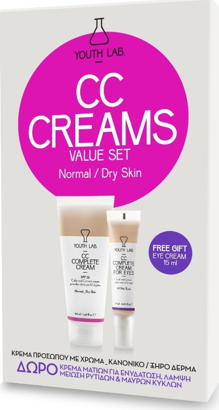 8ca93f8bb61 YOUTH LAB. | CC Complete Cream Spf30 for Normal/Dry Skin, 50ml ...