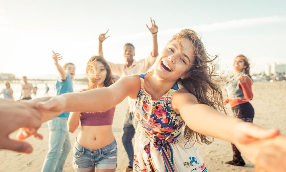 αντηλιακή προστασία, beach party