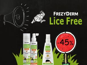 Lice free left