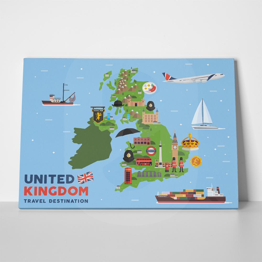 Πίνακας MODERN UNITED KINGDOM