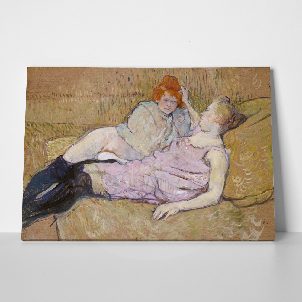 Πίνακας TOULOUSE LAUTREC - THE SOFA