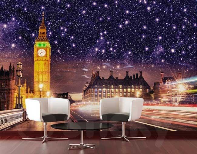 Αυτοκόλλητη Ταπετσαρία LONDON NIGHT
