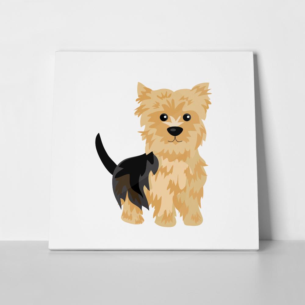 Πίνακας σε καμβά YORKSHIRE TERRIER DOG