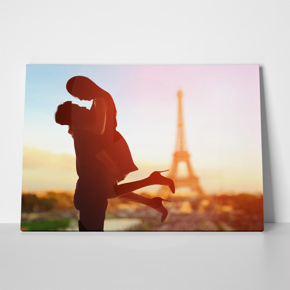 Πίνακας ROMANTIC LOVERS IN PARIS