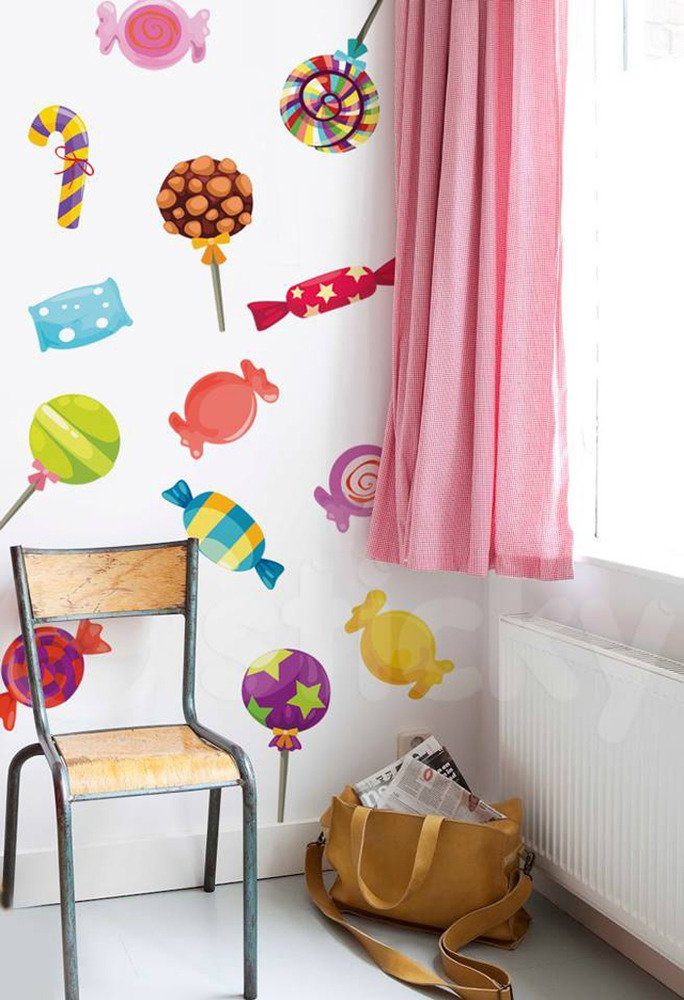 Aυτοκόλλητο τοίχου CANDIES