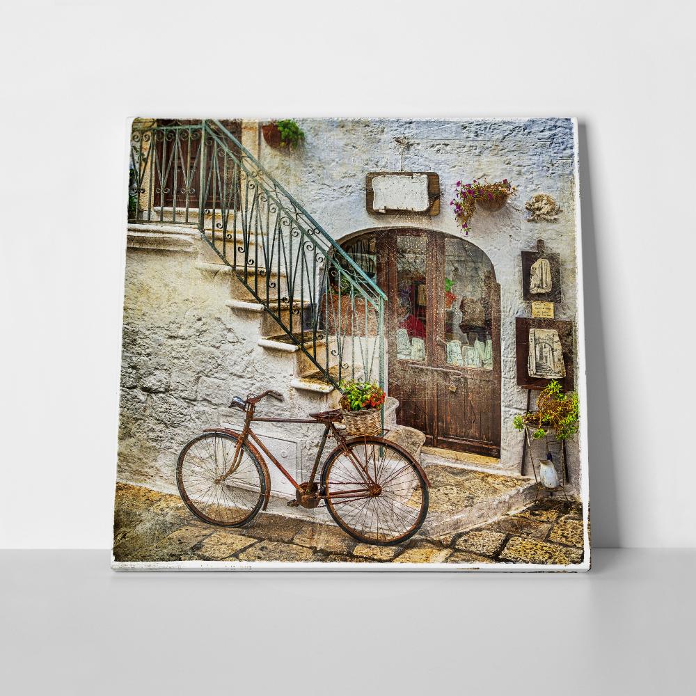 Πίνακας σε καμβά OLD STREETS OF ITALY