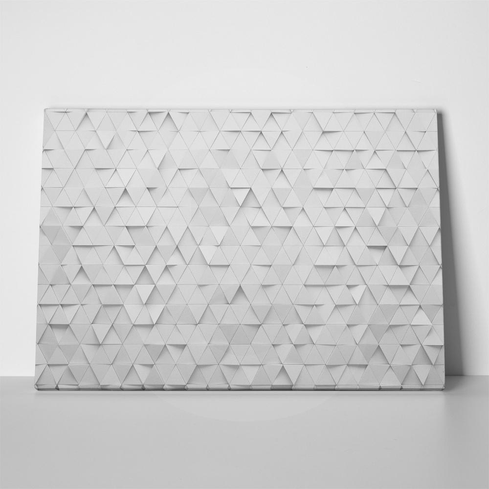 Πίνακας 3D ABSTRACT TRIANGLES