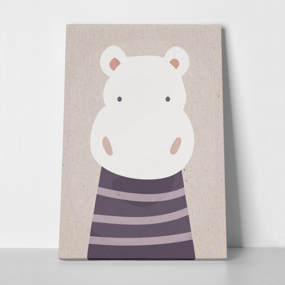 Πίνακας CUTE HIPPO 2