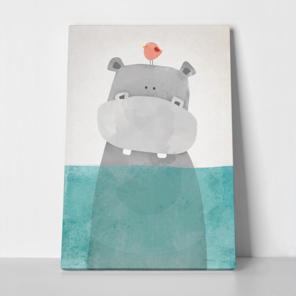 Πίνακας HIPPO IN WATER