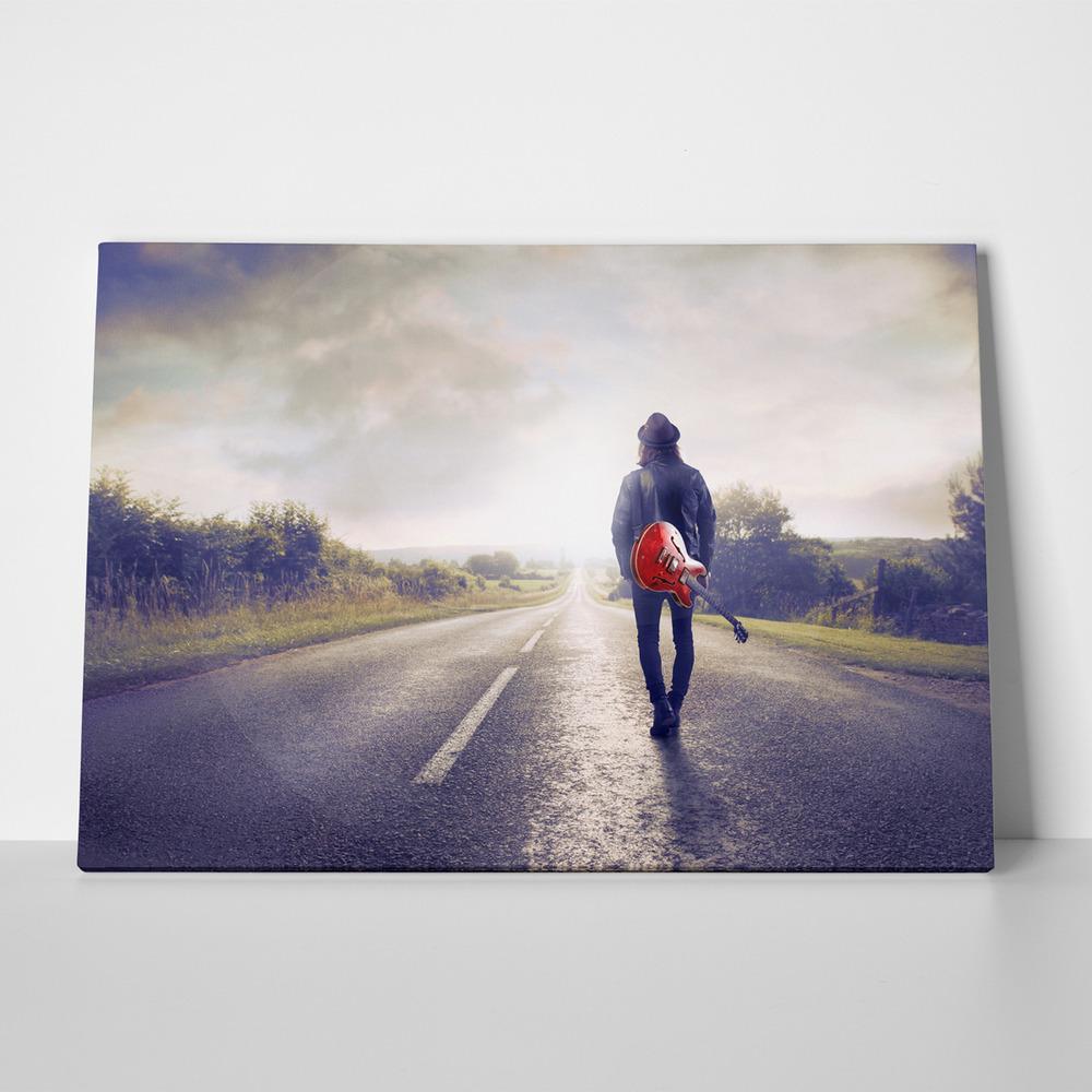 Πίνακας MUSICIAN WALKING