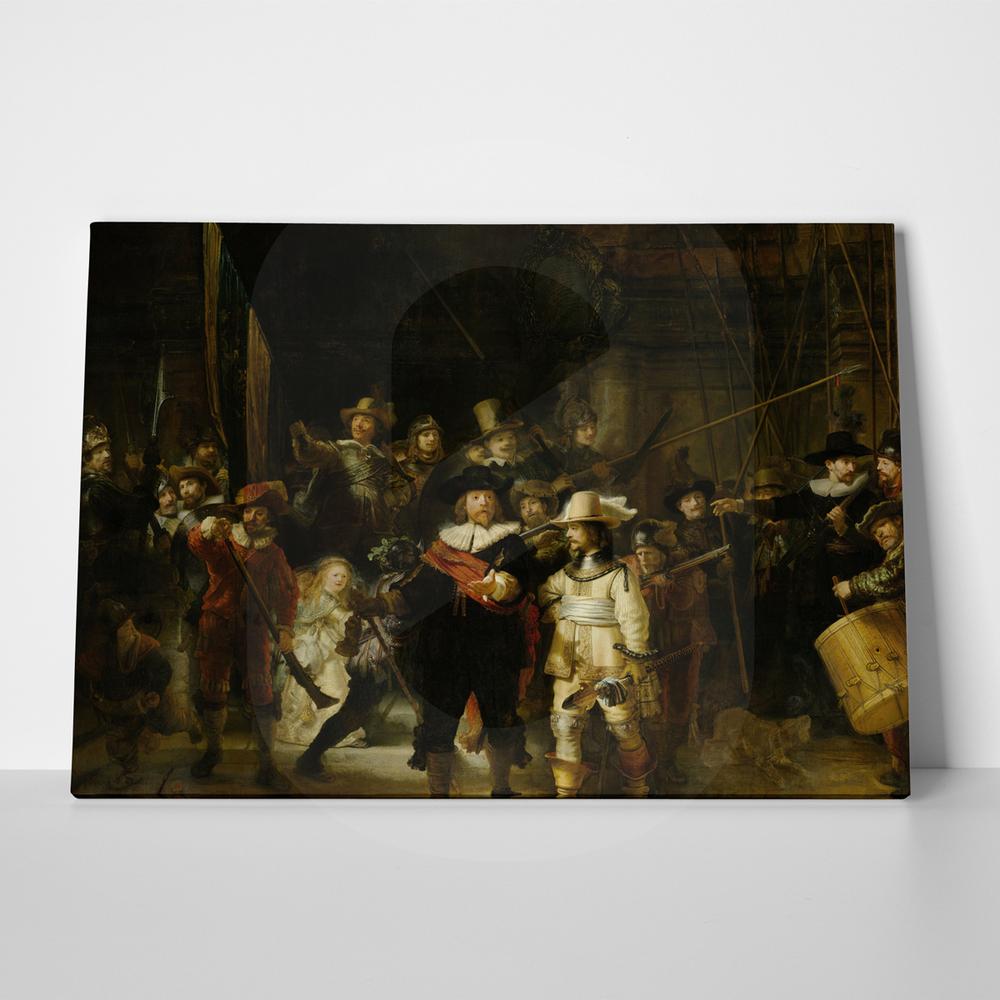 Πίνακας REMBRANDT-THE NIGHTWATCH