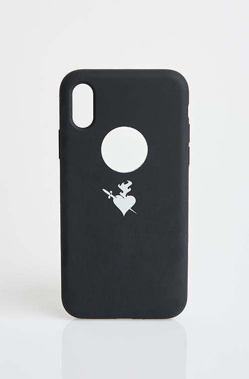ΘΗΚΗ ΚΙΝΗΤΟΥ iPHONE XS - ΜΑΥΡΟ