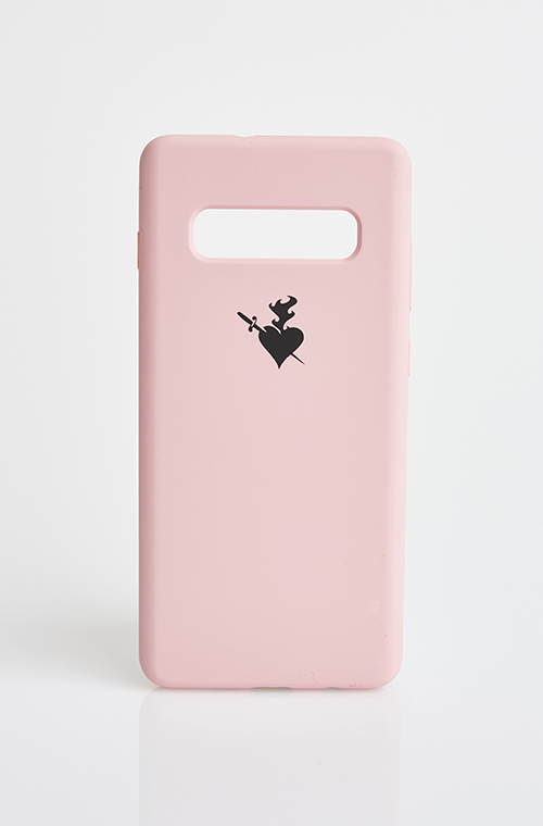 ΘΗΚΗ ΚΙΝΗΤΟΥ SAMSUNG GALAXY S10 PLUS - SOFT PINK - 728}