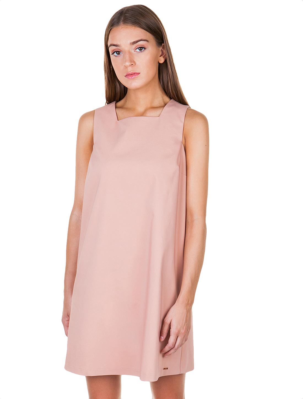 Φόρεμα σε Α-γραμμή με φαρδιά τιράντα - ΣΑΠΙΟ ΜΗΛΟ