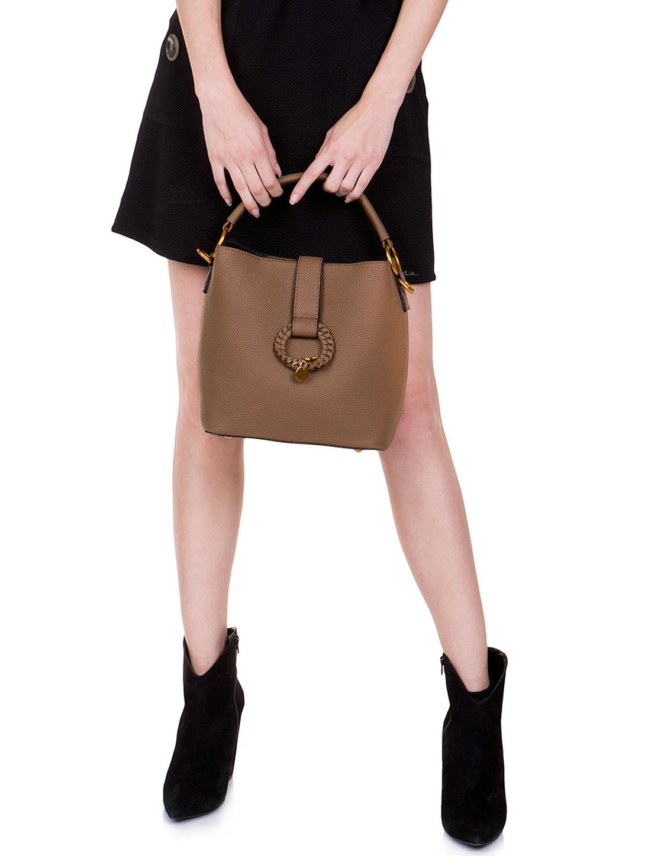 Τσάντα city bag με αγκράφα - ΤΥΠΟΣ