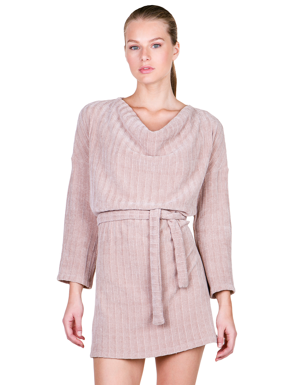 Φόρεμα με ζώνη - ΜΠΕΖ